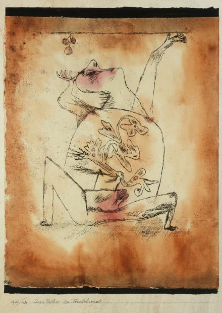 Klee, Paul: The Pathos of Fertility. Fine Art Print/Poster (5011)